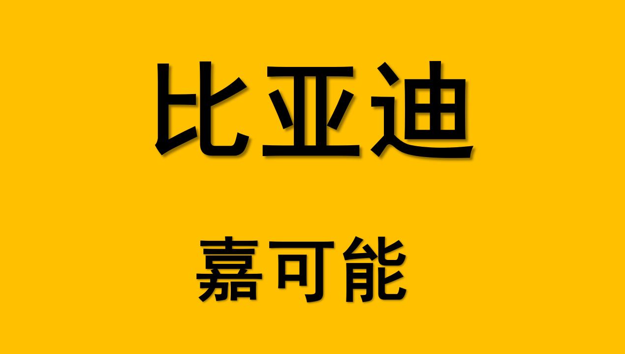 【嘉可能】A股牛股比亚迪(002594)缠论牛市标准图解!(10月28日)