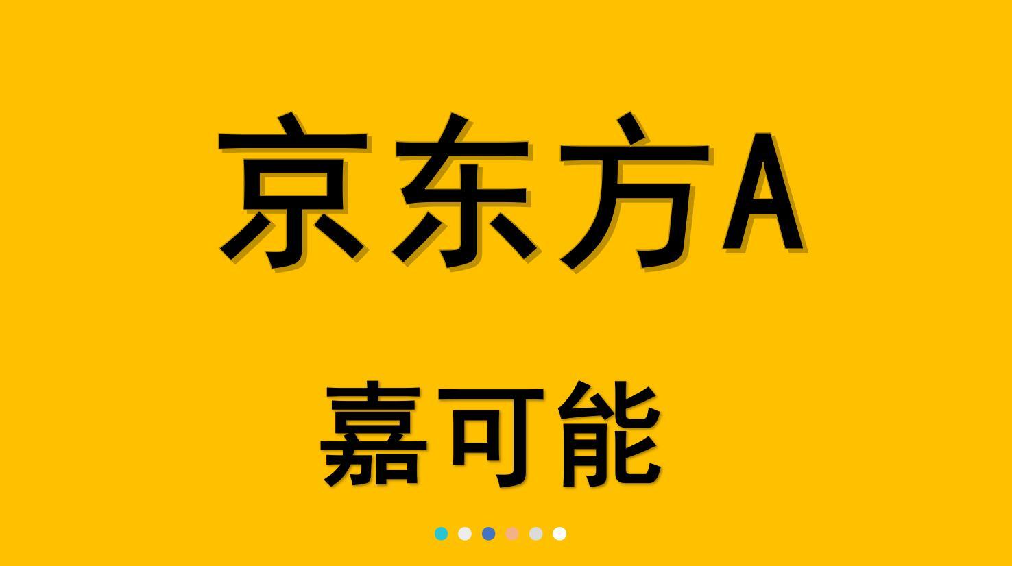 【嘉可能】京东方A(000725)缠论K线详解,与缠论趋势复制?(04月26日)